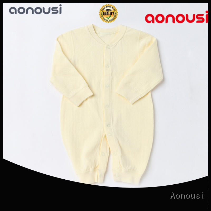 Aonousi summer infant cloth manufacturers for baby