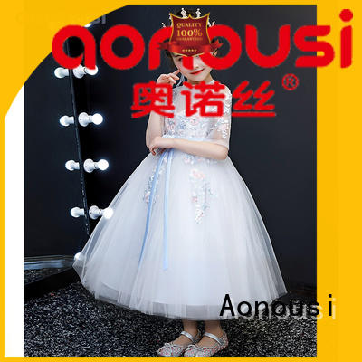 Aonousi beautiful party dresses for girls Suppliers