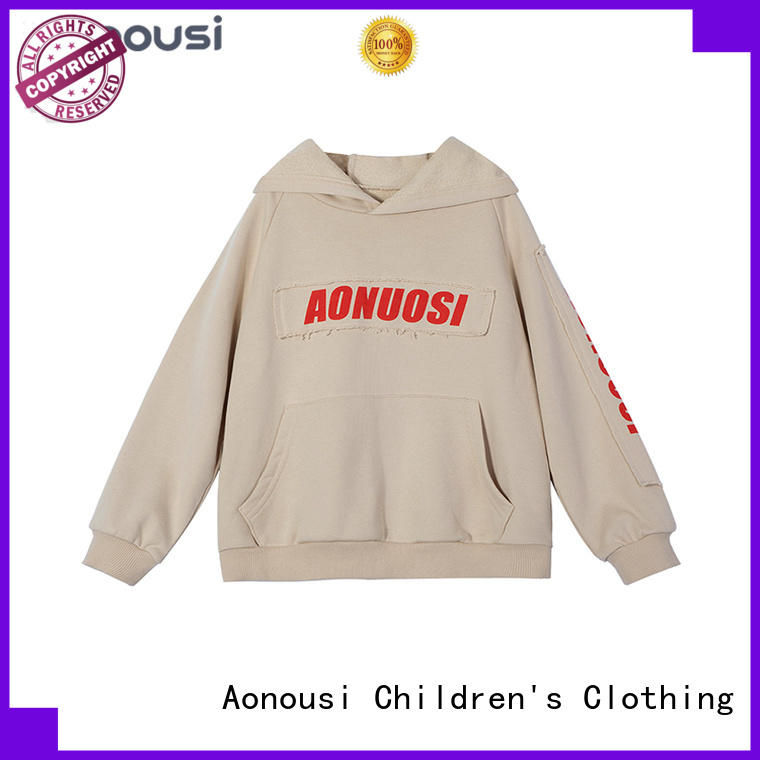 Aonousi popular little girl wholesale boutique clothing company for girls