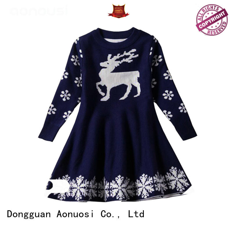 Aonousi Top fashion sweater for girls factory