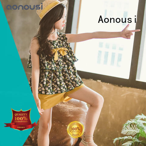 Aonousi autumn girls sets of clothes Supply for girls