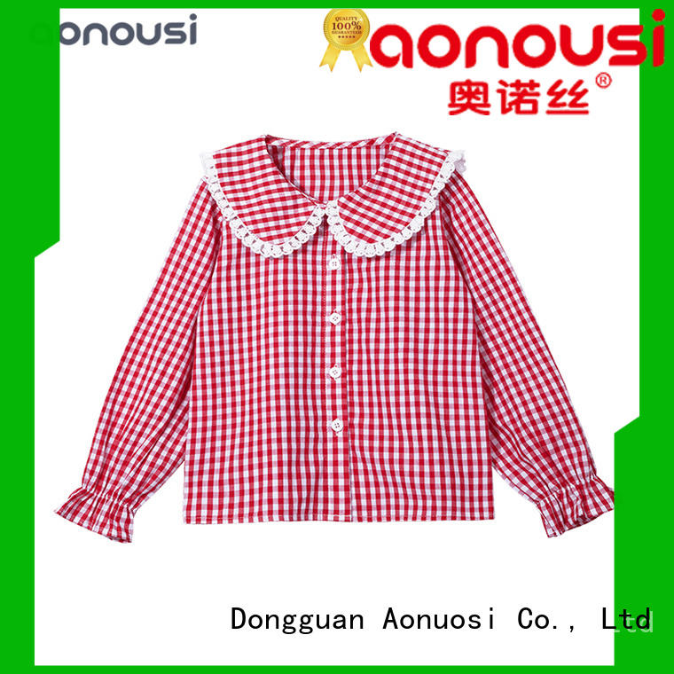 Aonousi popular custom girls clothes company for girls
