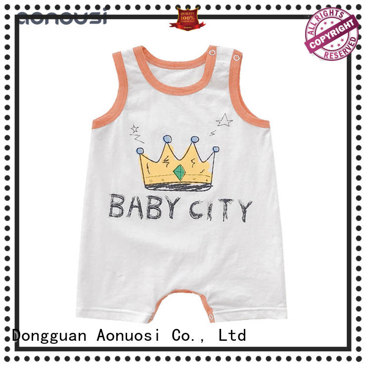 Top quality baby clothes singlesided Suppliers for baby
