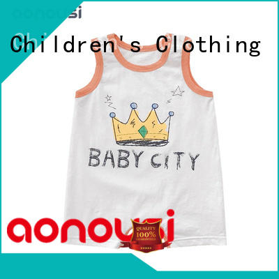 Aonousi newest childrens clothing factory price for boys