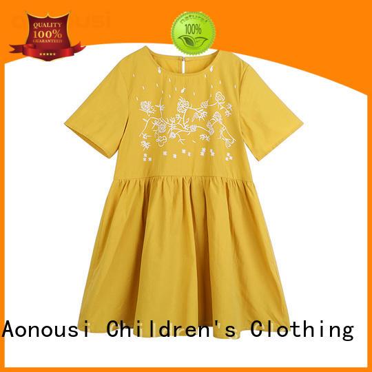 Aonousi fine- quality skirt little girl bulk production for kids