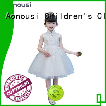 Aonousi Top party wear gown for baby girl Suppliers