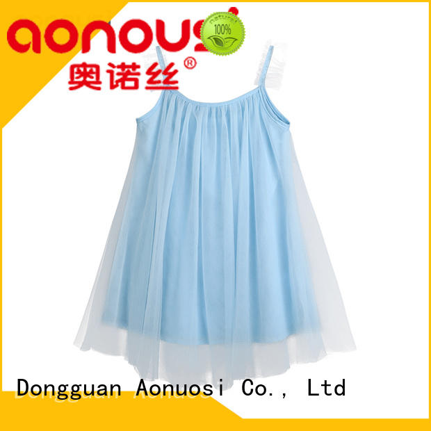 Aonousi version girls boutique clothing for wholesale for girls
