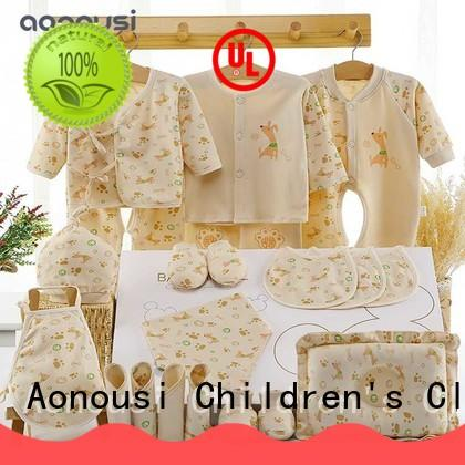 Aonousi sleepwear custom baby clothes certifications for boys