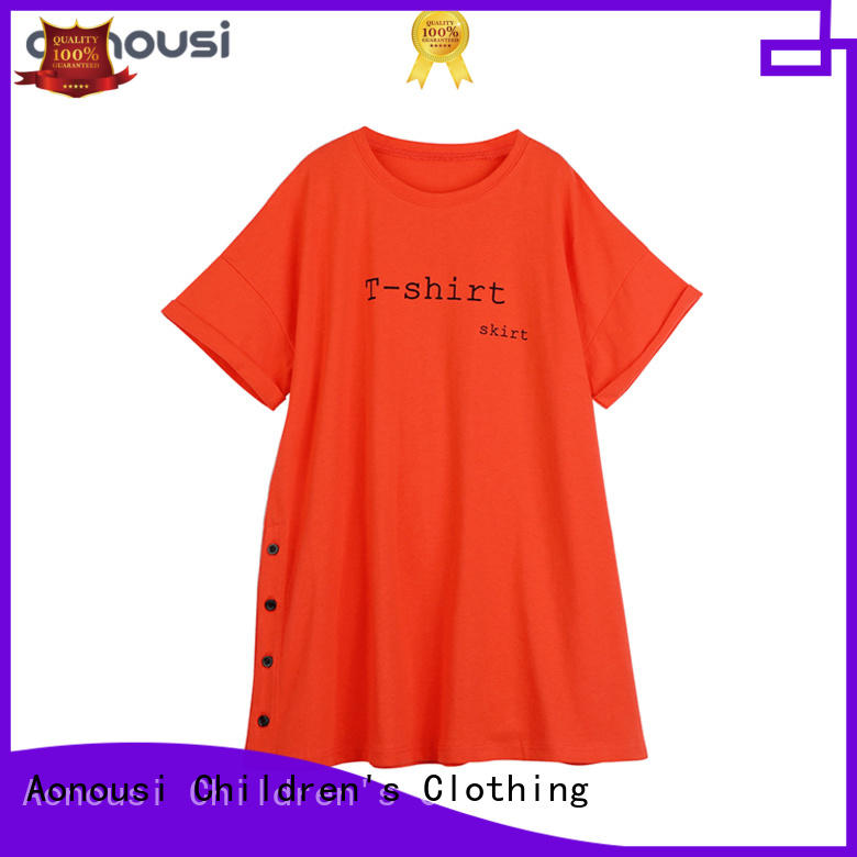 hot-sale fashion cloth for girl bulk production for girls Aonousi