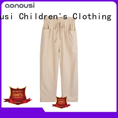 Girls casual pants 2019 Spring and Autumn new design Korean version radish pants wholesale girls clothes