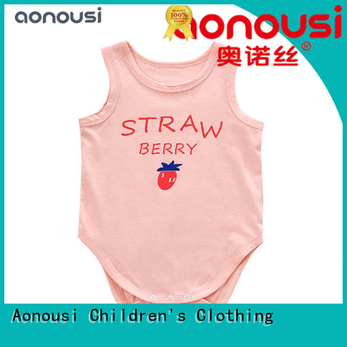 comfortable infant clothing suit for girls