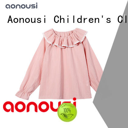 Aonousi print custom made kids clothes factory for kids