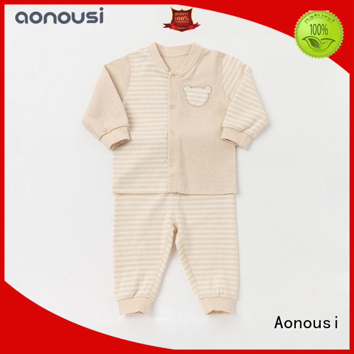 cotton custom made baby clothes autumn bulk production for girls