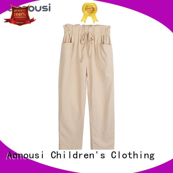 Aonousi High-quality girls skinny khakis company for kids
