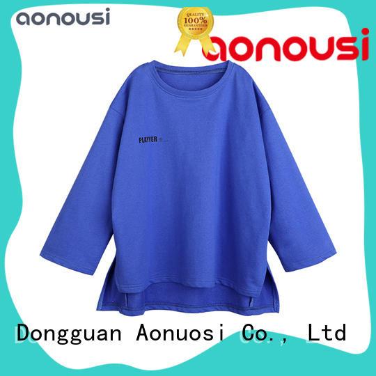 Aonousi Latest girls t shirt company for girls
