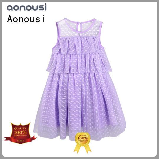 Aonousi bohemian girls clothing wholesale company for kids
