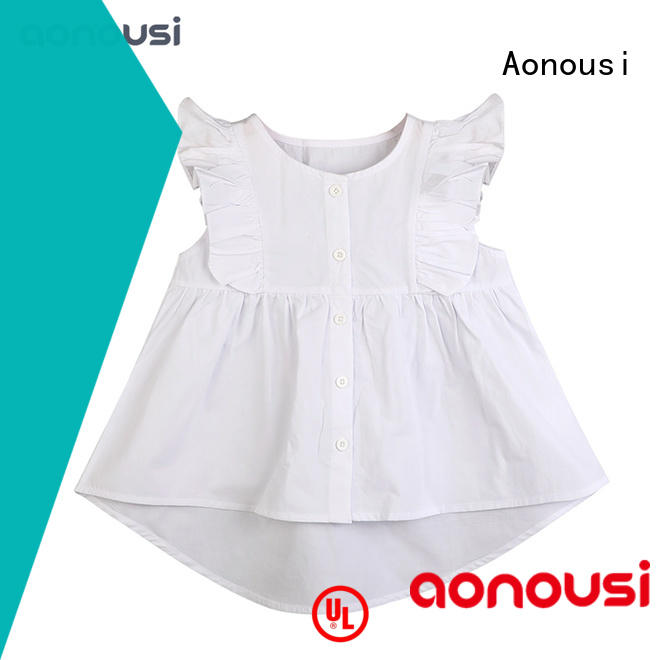 Aonousi popular t shirt design for girl Suppliers for kids