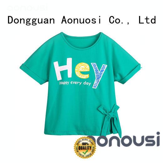 Aonousi print kids girl cloth for girls