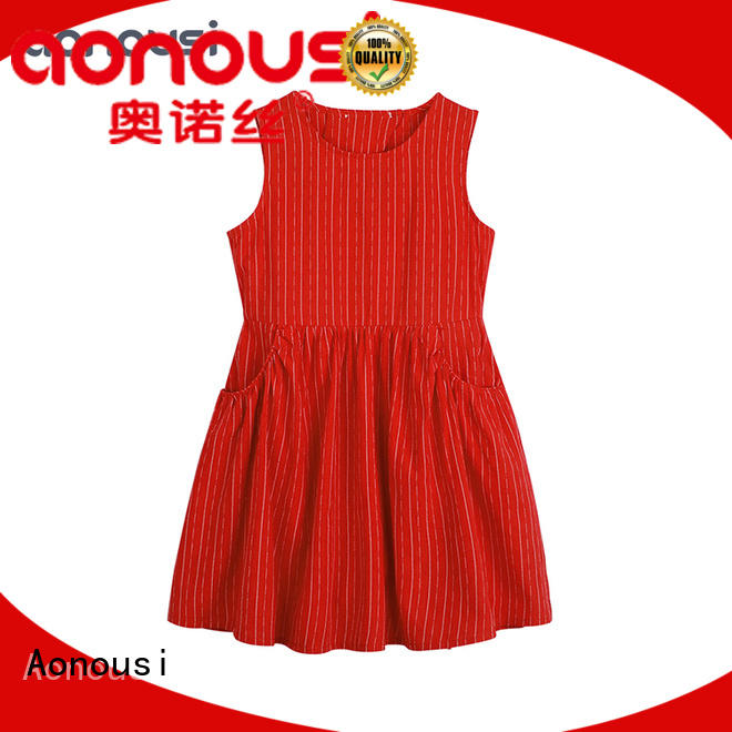 floral wholesale girl boutique clothing fashionable for girls Aonousi