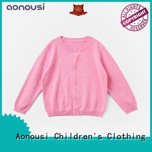 Aonousi Latest new girls sweater Supply