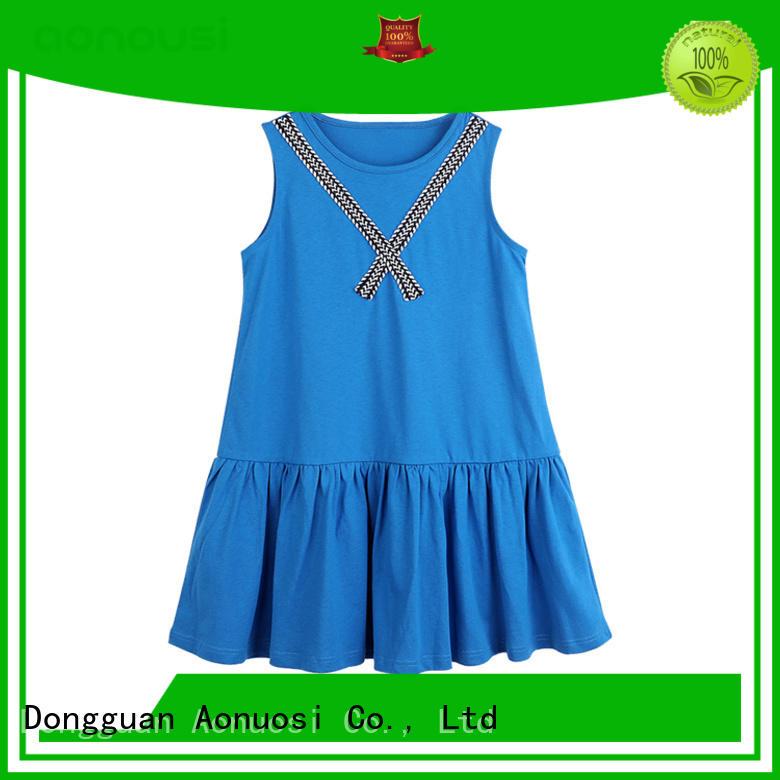 Aonousi stripe toddler girl skirts manufacturers for kids