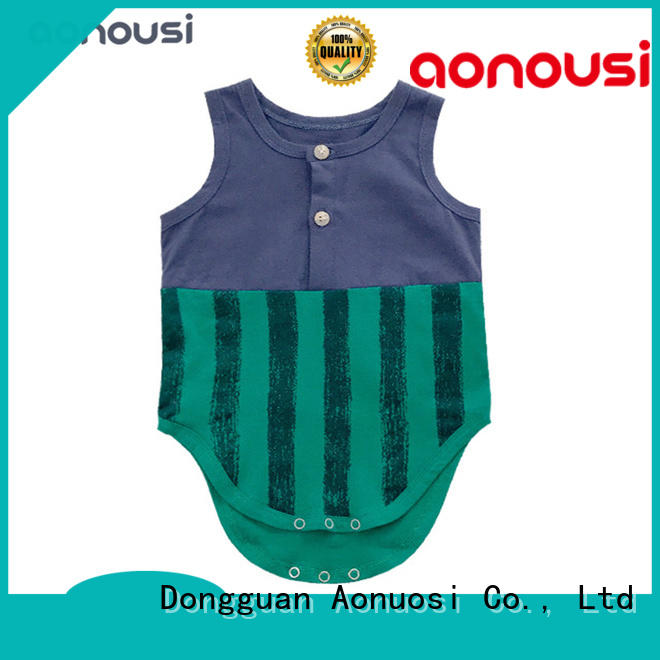 Aonousi cotton childrens clothing bulk production for girls