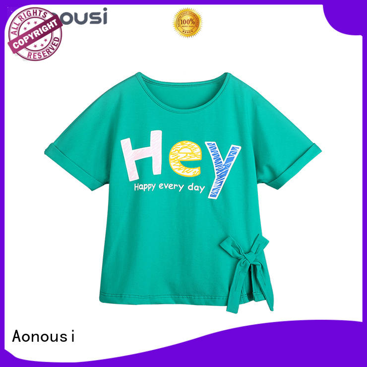 Aonousi newest children and baby clothes for wholesale for kids