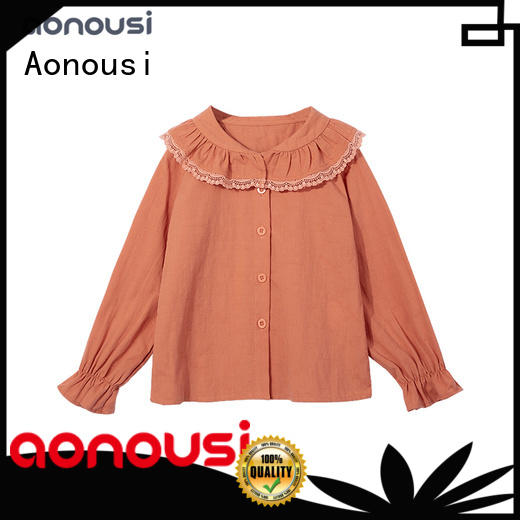 Aonousi inexpensive girls dress clothes manufacturers for kids