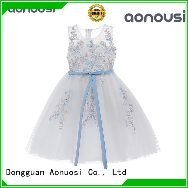 Aonousi little girl party outfits Supply