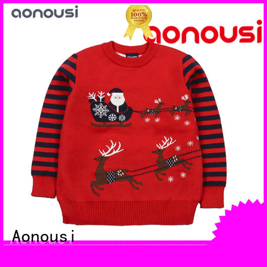 Aonousi Top girls green cardigan sweater Suppliers for baby