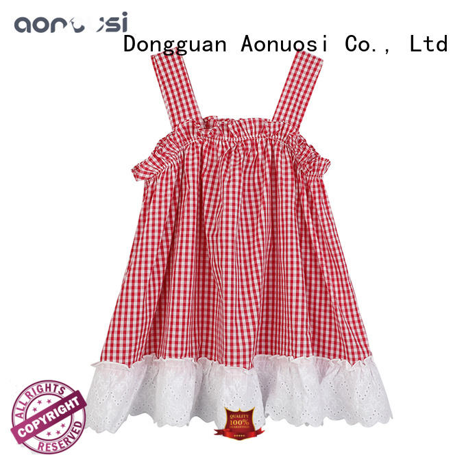 Aonousi splendid girl clothing factory price for kids