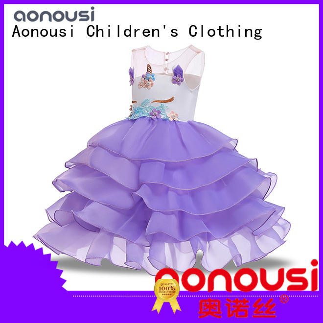 High-quality baby girl party dresses Supply