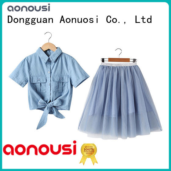 Aonousi childrens baby girl clothes boutique Supply for kids