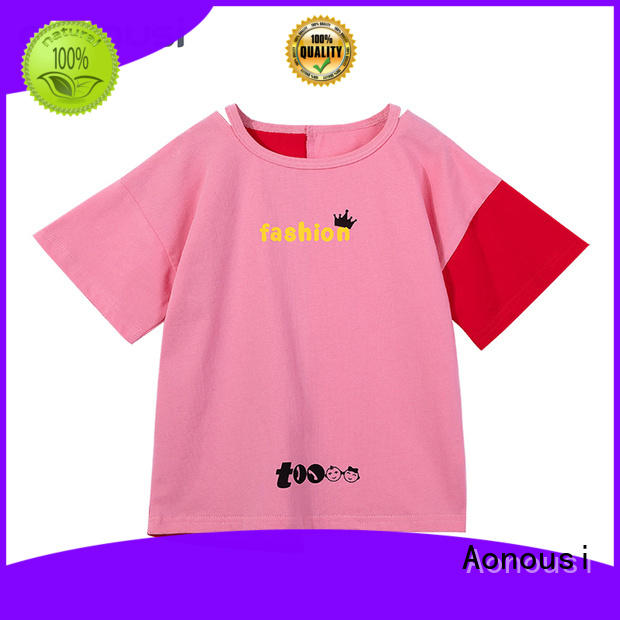 girl girl shirts for kids from China for kids Aonousi