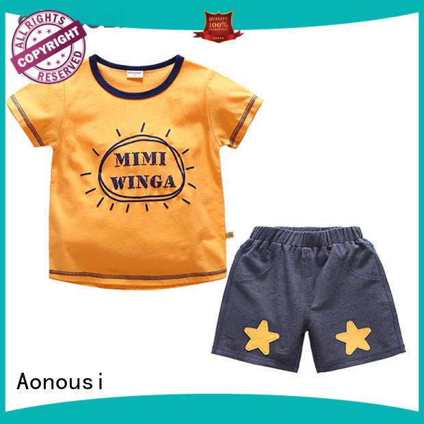 Aonousi korean boy clothing supplier for kids