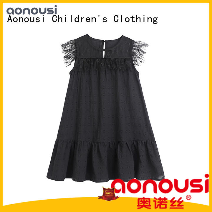 fashion korean kids dress for wholesale for kids Aonousi