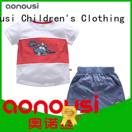Aonousi pure infant boy suit and tie factory for boys