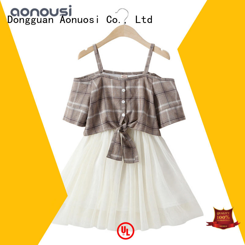 Aonousi newest childrens clothing bulk production for boys