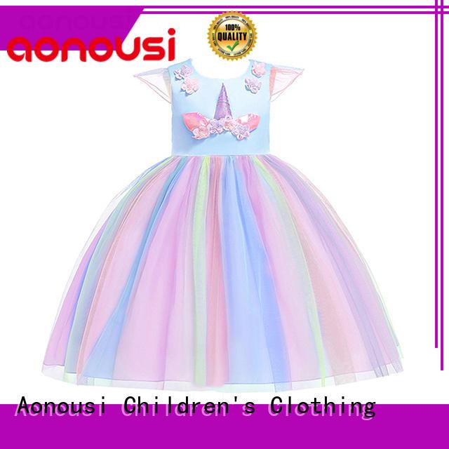 Aonousi design childrens clothing bulk production for kids