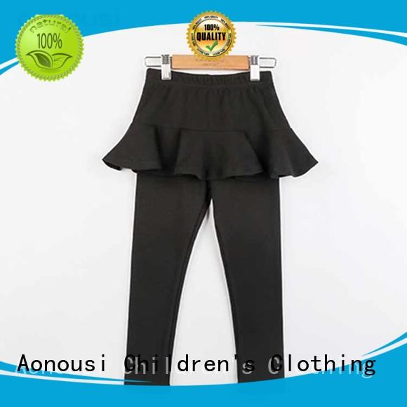 Aonousi casual pants for kids girls company for boys