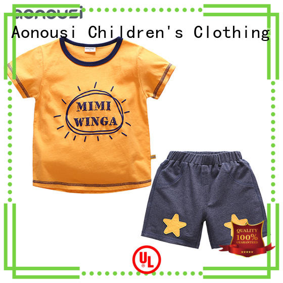 Aonousi nice childrens clothing factory price for kids
